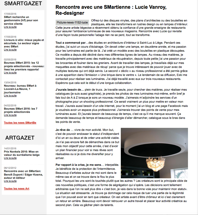 newsletter Smartbe 2012