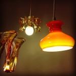 lampe verre exki namur détail