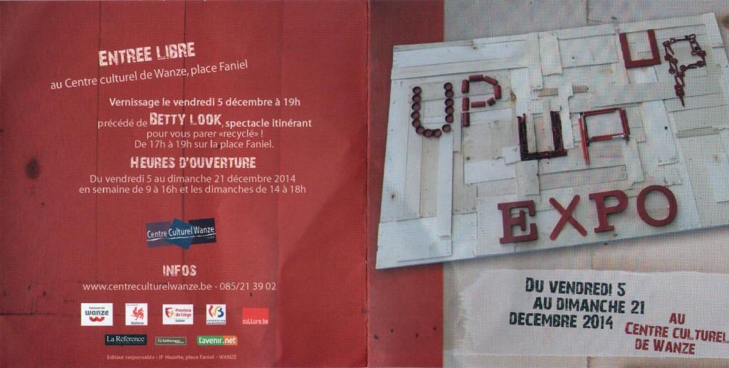 invitation expo Up Wanze décembre 2014