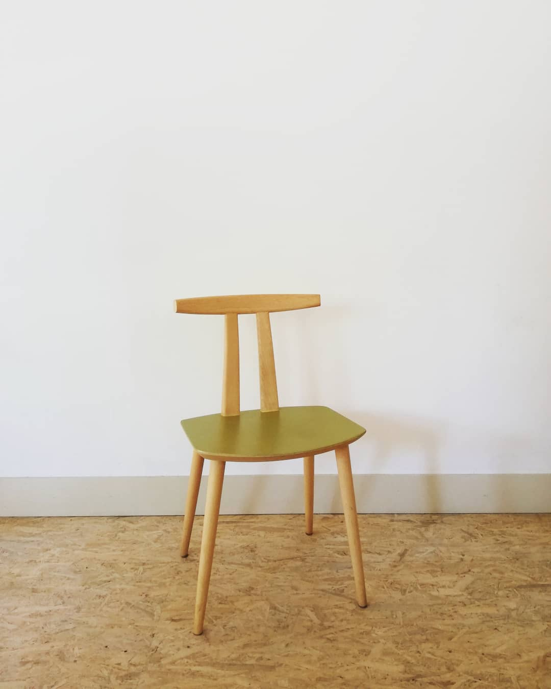 chaise danoise or